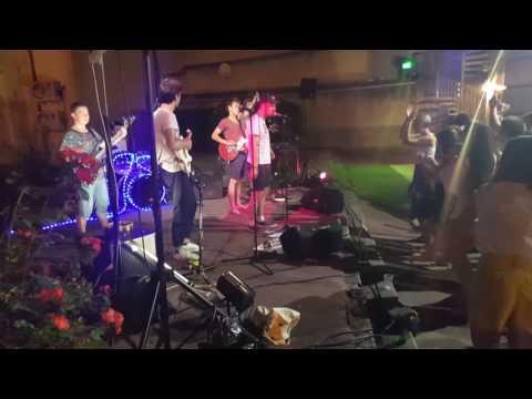 Swans On The Groove  à Limoges, lors de la fête de la musique 2017