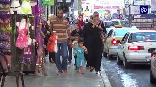 تركيب كاميرات مراقبة في الوسط التجاري في مدينة الزرقاء - (16-9-2017)
