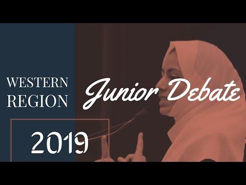 Junior Debate   Western Region