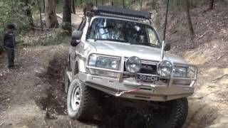 Land Rovers vs Landcruisers 4x4 Wishing Well Watagans