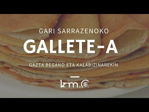 Gari sarrazenoko galletea | Gallete de  trigo sarraceno | Km0 vegan vegetarian Donostia
