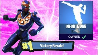 "'NOUVEAU' ""CRITERION"" SKIN - INFINITE DAB EMOTE GAMEPLAY / SEASON 5 HYPE:] (Fortnite Battle Royale)"