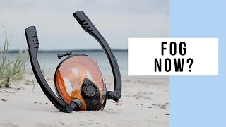 What Did The Version Update For The HJKB K2 Full Face Snorkel Mask Do?