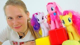 Видео для девочек. Учимся делиться вместе с Литл Пони