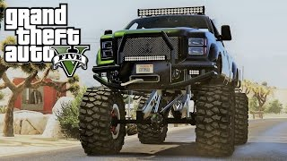 GTA 5 - EPIC MONSTER 4X4 XXL ! EXTREM CROSS