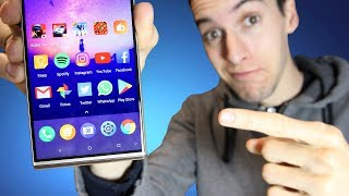 EL MIX INVERTIDO! Alcatel 5, review en español