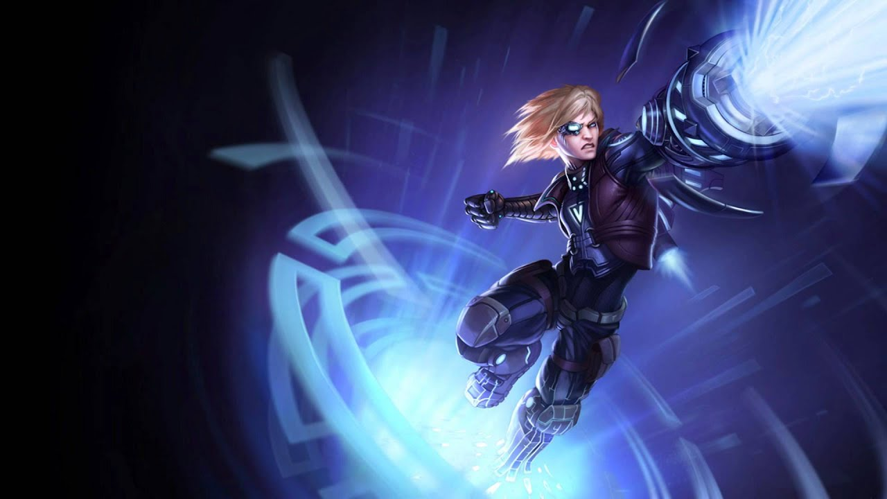 New Pulsefire Ezreal Splash Art League Of Legends Youtube