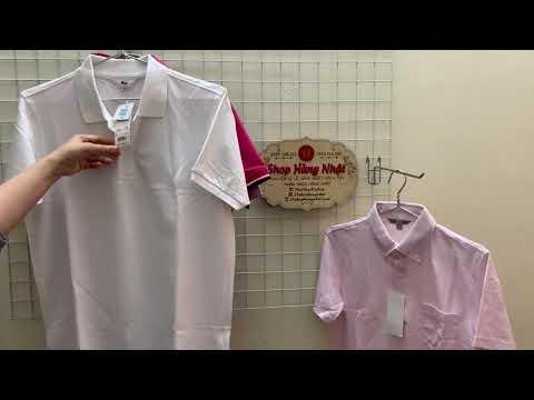 Áo phông nam (nữ) Polo shirt (cổ bẻ) Uniqlo Nhật Bản (3tshophangnhat)