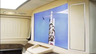 видео Тюнинг Mercedes Viano от компании ZART. Тюнинг Мерседеса виано с дизайнерскими решениями.
