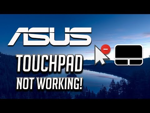 Asus Touchpad Not Working Windows 10/8/7 [2020 Tutorial]