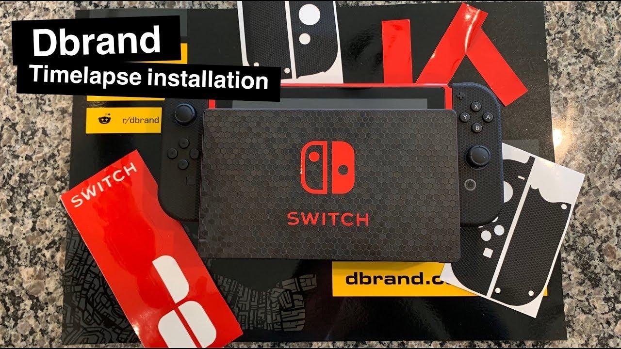 Dbrand Nintendo Switch Full Installation Timelapse Youtube