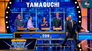 A Peek at the Yamaguchi House! - Celebrity Family Feud