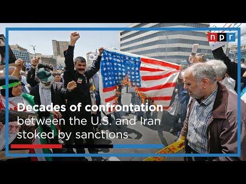 What's Driving U.S. Sanctions On Iran | NPR