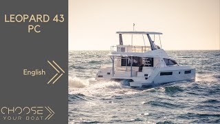 LEOPARD 43 PC (Powercat) Guided Tour Video in English