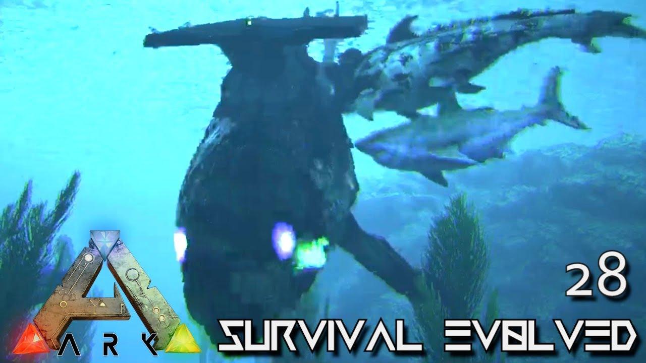 ARK: SURVIVAL EVOLVED - DEEP OCEAN ZOMBIES MONSTERS !!! E28 (MODDED ARK  PUGNACIA DINOS GAMEPLAY)