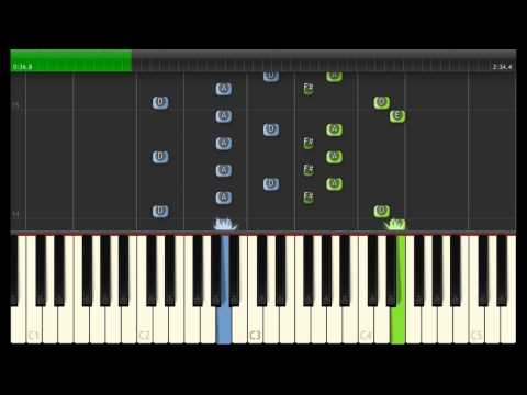 Child of Light - Leave your Castle (Synthesia Piano Tutorial)