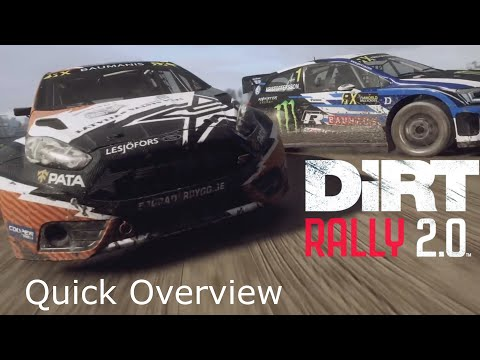 Dirt Rally 2.0: A Quick Overview