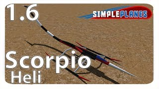 Scorpio Helicopter! - Simple Planes (Build) Mp3