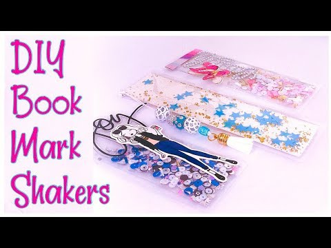 DIY Bookmark Shakers/for Planners  and Travelers Notebook