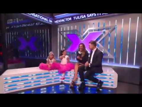 sophia grace and rosie are in the building the x factor. Black Bedroom Furniture Sets. Home Design Ideas