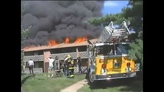 Golf Club Apartments Building Fire - September 1, 1989
