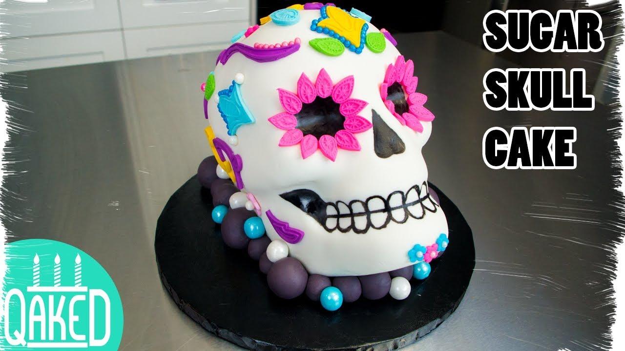 Sugar Skull Cake Coco Movie Cake From Disneypixar El Dia De Los