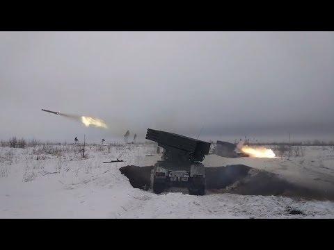 Учения батальонных тактических групп прошли под Воронежем.