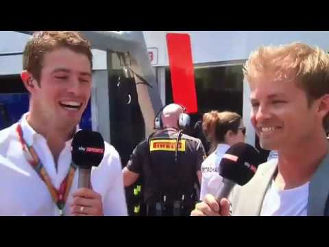 Nico Rosberg grid interview Monaco GP 2017