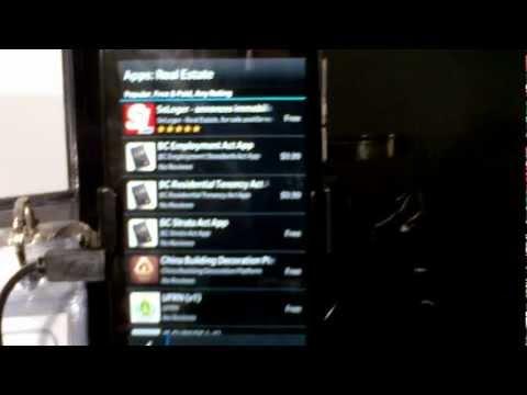 BlackBerry Z10 apps