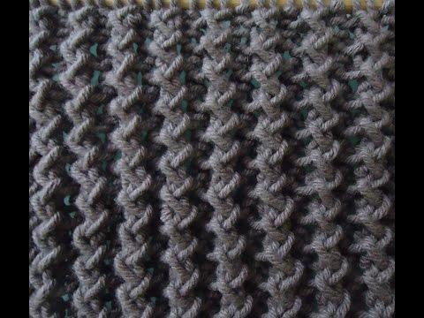 [Mẫu đan] - Hướng dẫn đan mẫu khăn zigzag
