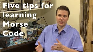 Five tips for learning Morse code