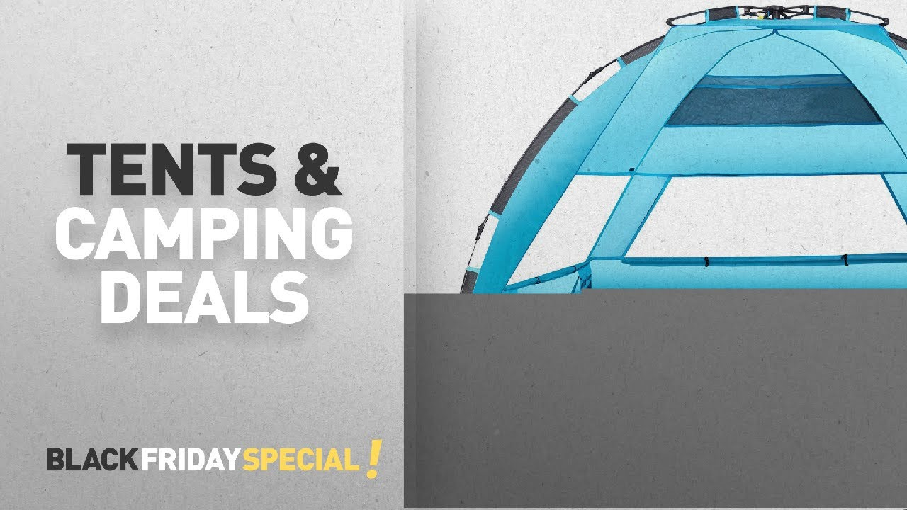 Arcshell Premium Extra Large Pop Up Beach Tent | Black Friday C&ing u0026 Outdoor : extra large pop up tent - memphite.com
