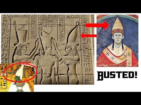"DID The ""Vatican"" of Egypt, (Heliopolis/Giza) ""shift to Rome"" in Ancient times?"
