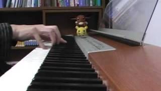 ちっちゃな雪使いシュガーで流れる曲「Memory of mother」をピアノで弾いてみました!この曲が大好きですっ.