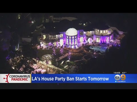 Los Angeles Party House Ban Goes Into Effect Friday