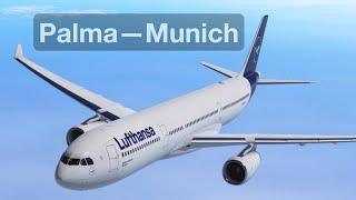 Palma to Munich — Infinite Flight Movie
