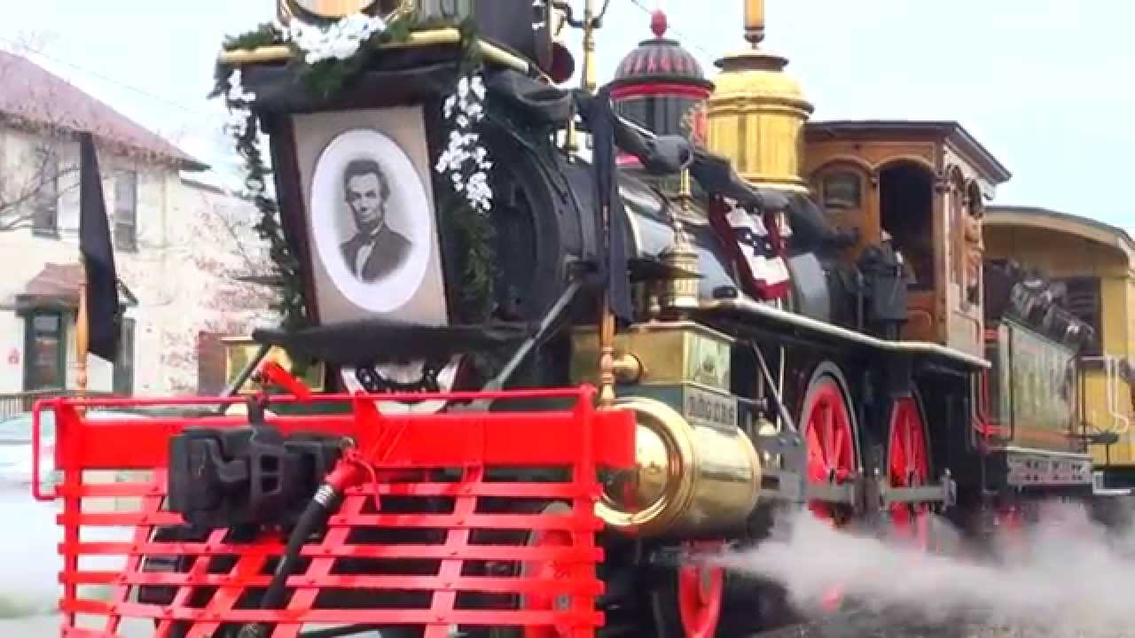 Lincoln Funeral Train On Steam Into History Youtube
