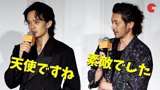 池松壮亮&オダギリジョー、お互いをベタ褒め 映画『アジアの天使』プレミア上映イベント