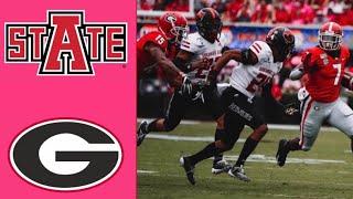 Arkansas State vs #3 Georgia Highlights | NCAAF Week 3 | College Football Highlights