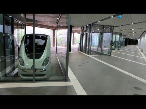 Masdar City PRT Personal Rapid Transit