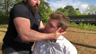 TORQUE TECHNIQUE used on SCOLIOSIS patient for Specific FULL SPINE Chiropractic Adjustment