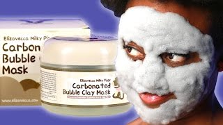 Friends Try The Carbonated Bubble Clay Mask