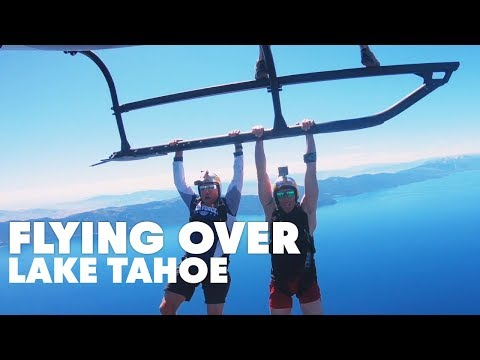 Skydiving Lake Tahoe For A Barge Boogie ...
