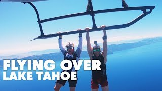 Skydiving Lake Tahoe For A Barge Boogie | Miles Above 3.0