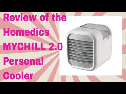 Review of Homedics MyChill Personal Space Cooler 2 0