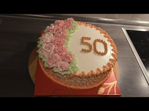 Torte Zum 50 Geburtstag Youtube