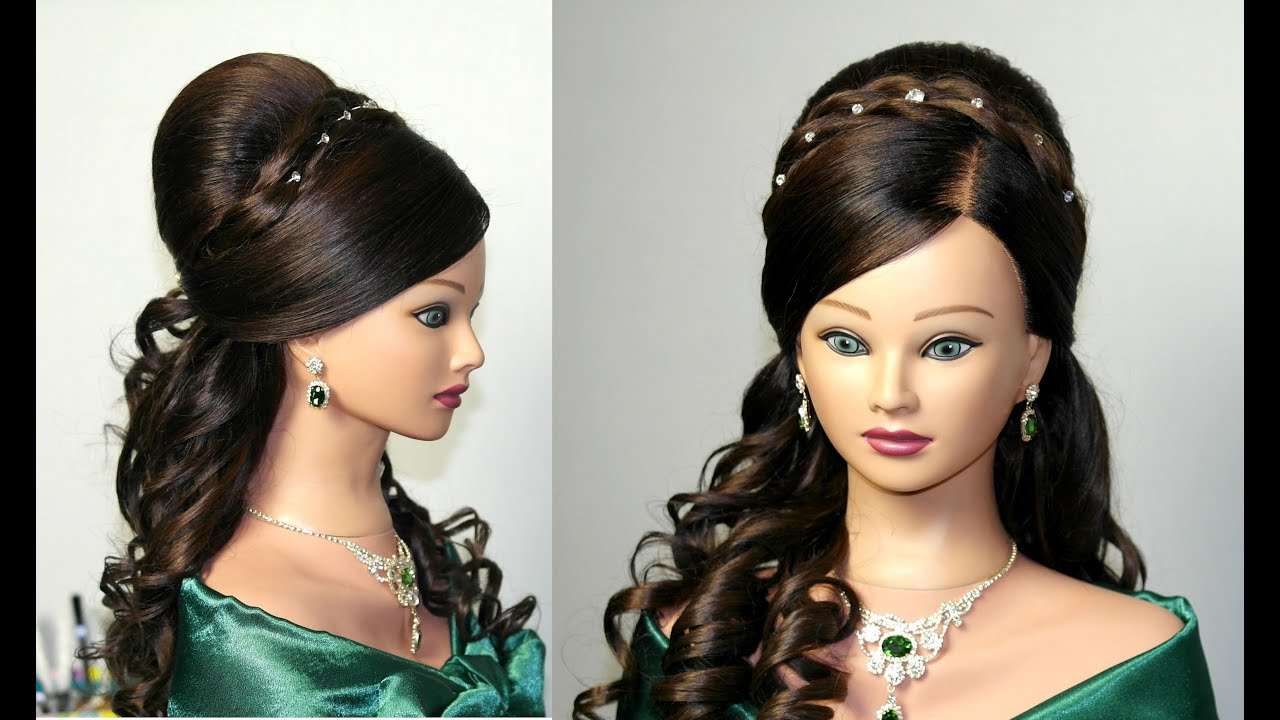 haircut styles for long wavy hair curly wedding prom hairstyle for hair 3464 | maxresdefault
