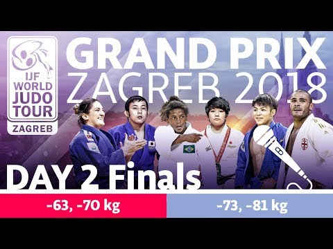 Judo Grand-Prix Zagreb 2018: Day 2 - Final Block