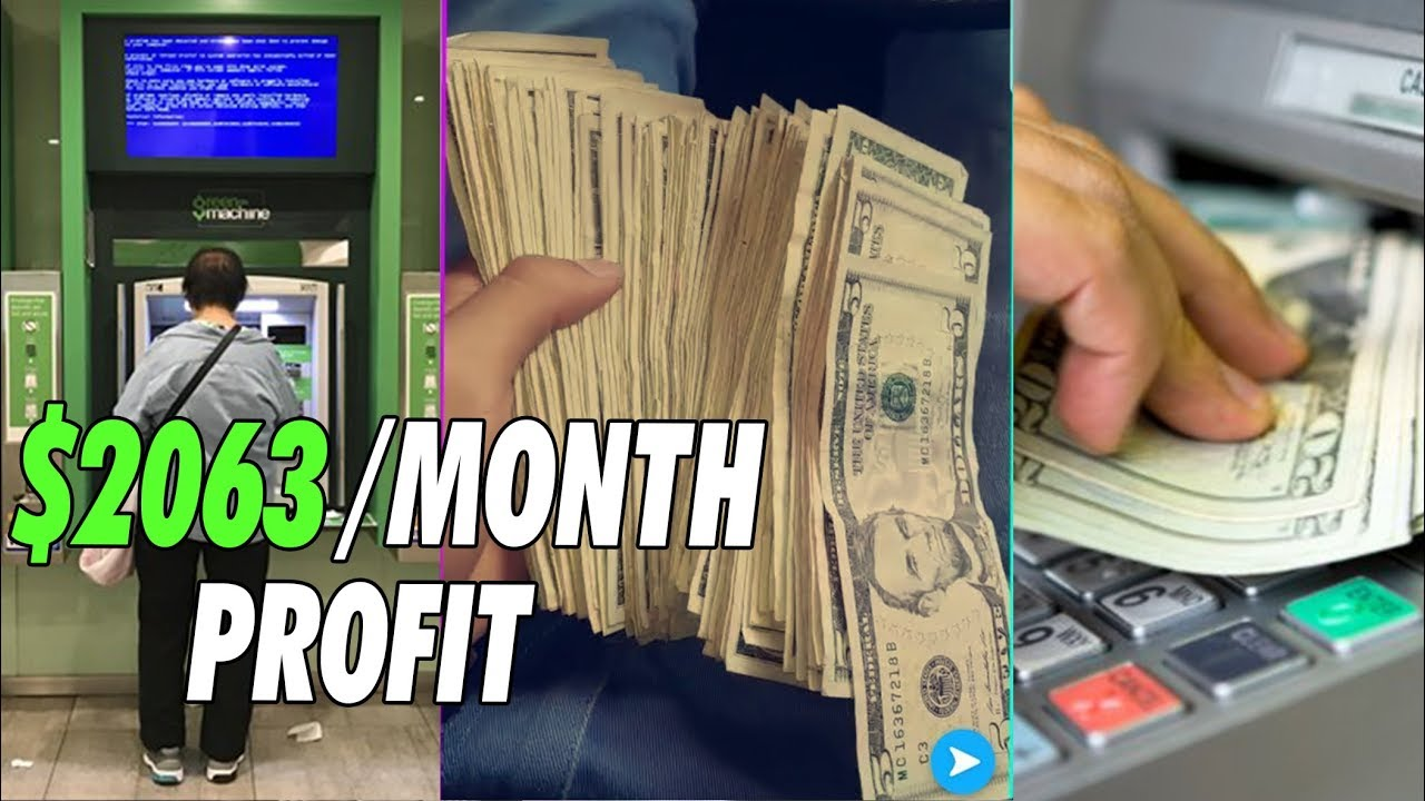 How to start a ATM Business | $3683 Per Month
