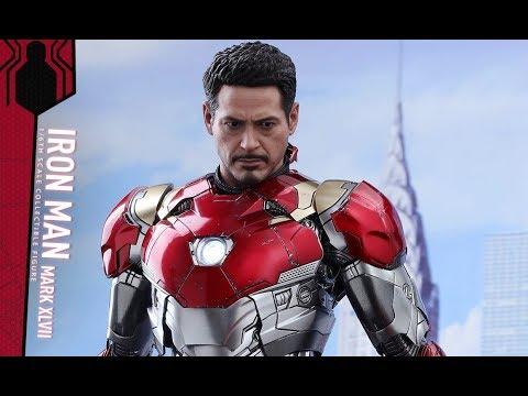 PREVIEW Hot Toys Iron Man Mark 47 Diecast / DiegoHDM